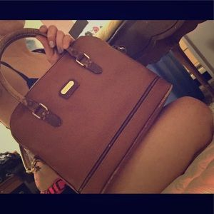Liz Claiborne domed satchel - priced to sell